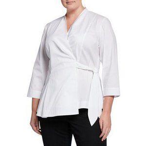 Lafayette 148 New York White Blouse Shirt - NWT